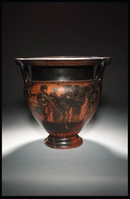 AN ATTIC BLACK-FIGURE COLUMN K