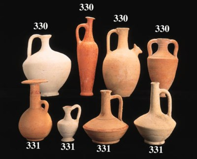 A CYPRIOT RED LUSTROUS WARE SP