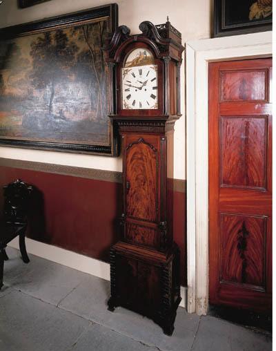 A George III mahogany longcase