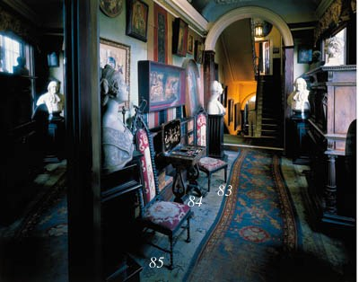 An Irish late Regency ebonised