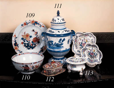 A Chinese Imari charger, 18th