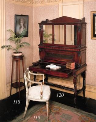An Irish Regency mahogany writ