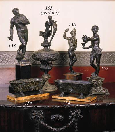 An Italian bronze figure of a