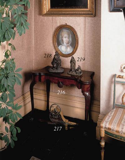 An Irish George III mahogany c
