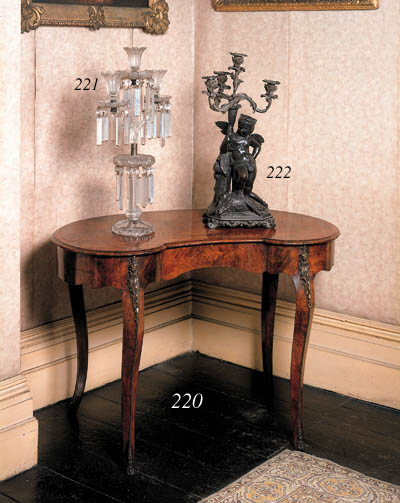 A French or Italian figural br