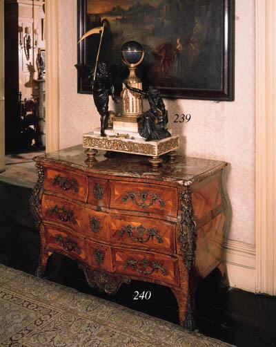 A Louis XV kingwood bombe comm