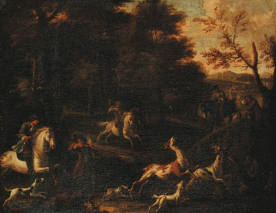 Attributed to Jan Wyck (1640-1