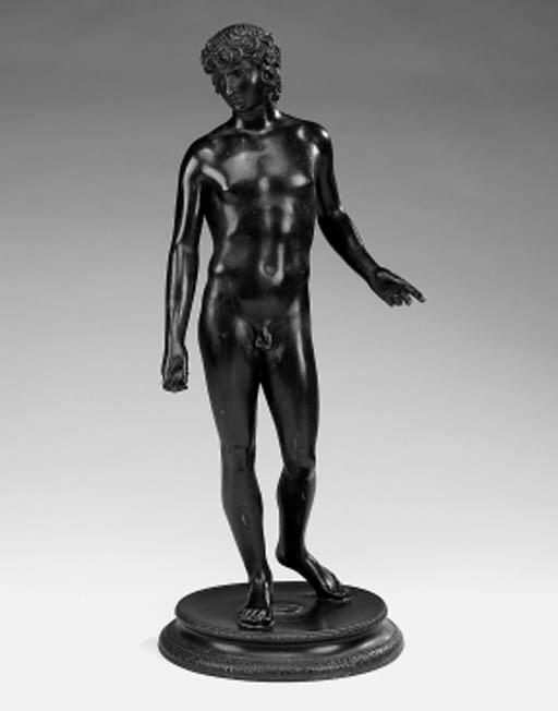 An Italian bronze figure of An