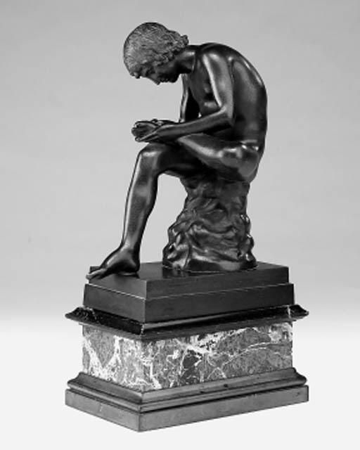 An Italian bronze figure of sp