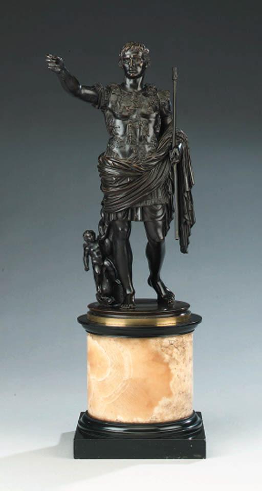 An Italian bronze figure of th