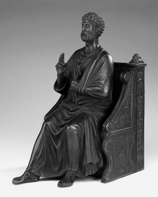 An Italian bronze figure of Mo