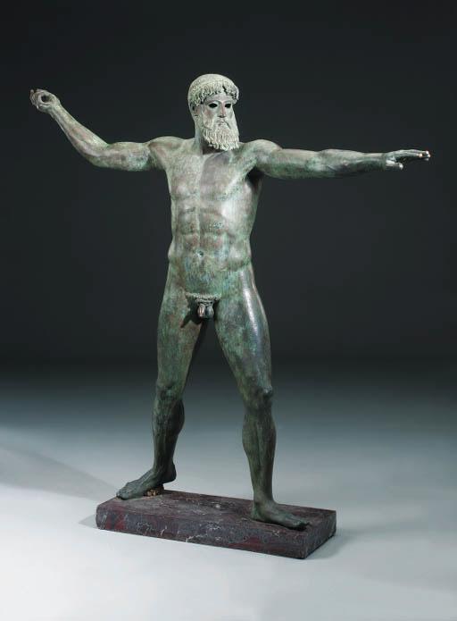 An Italian bronze statue of th