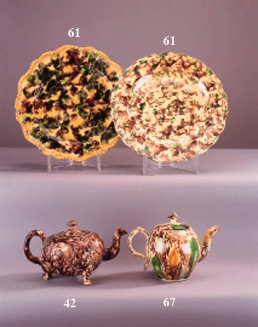A Staffordshire creamware ovif