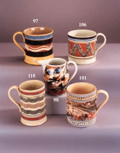 An English buff-coloured potte