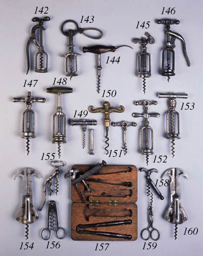 ELEVEN VARIOUS STRAIGHT-PULL C