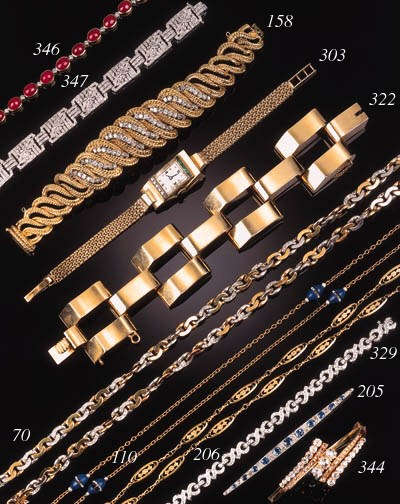 A continental diamond bracelet