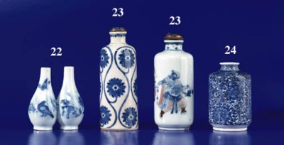 Two Blue and White Porcelain B