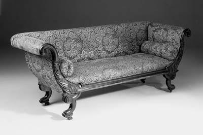 A George IV rosewood sofa
