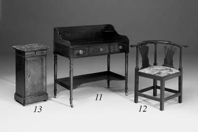 A Louis Philippe mahogany marb
