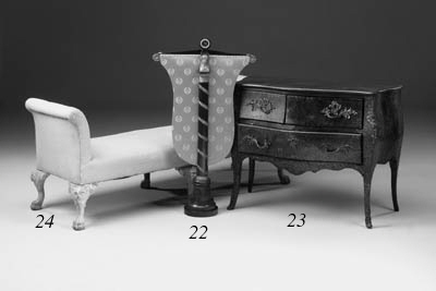 A Louis XV parquetry and flora