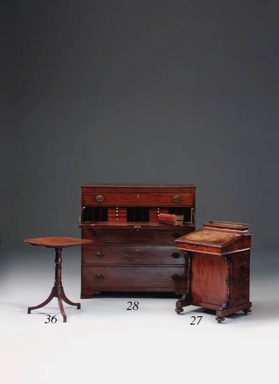 A Regency mahogany occasional