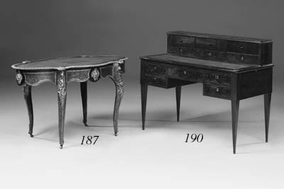 A Louis Philippe mahogany writ