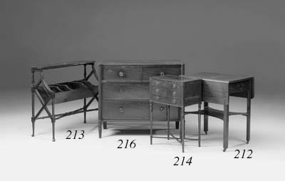 A Regency mahogany chest