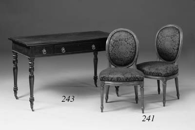 A set of four Louis XVI beechw