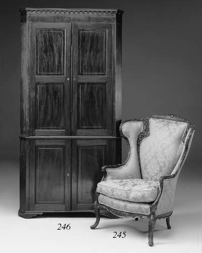 A George III mahogany standing