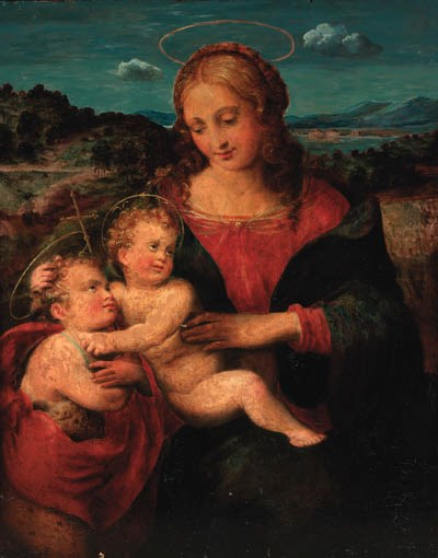 Follower of Raffaello Sanzio,