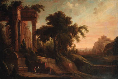 Circle of Jacques d'Arthois (1