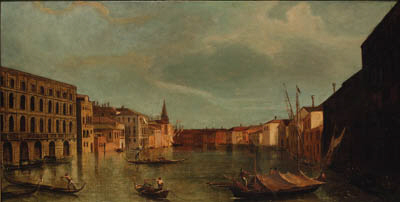 After Antonio Canal, il Canaletto