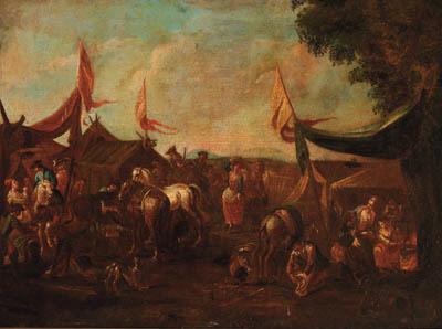 Follower of Pieter van Bloemen, called Mons Standard