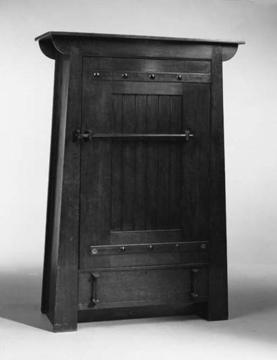 A Liberty & Co oak wardrobe