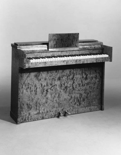 A 1930's Swedish upright piano