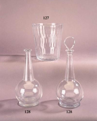 A Royal Brierley clear glass v