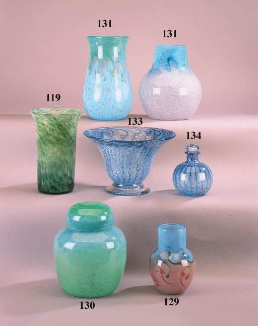 A Monart vase