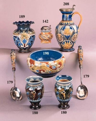 A Royal Doulton stoneware bowl