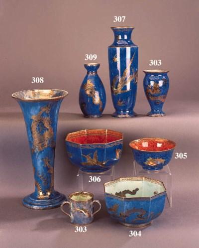 A Wedgwood Dragon lustre bowl