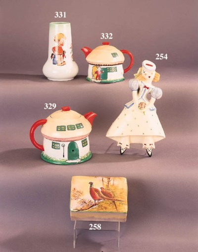 A Shelley Nursery teapot and c