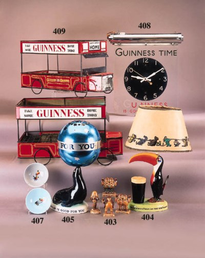 A Carlton Ware Guinness advert