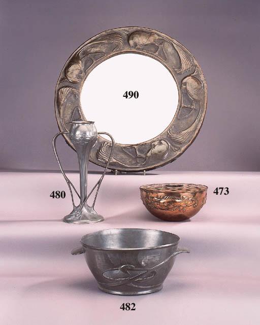 A Liberty Tudric pewter bowl