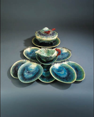 Eight Portuguese pottery part
