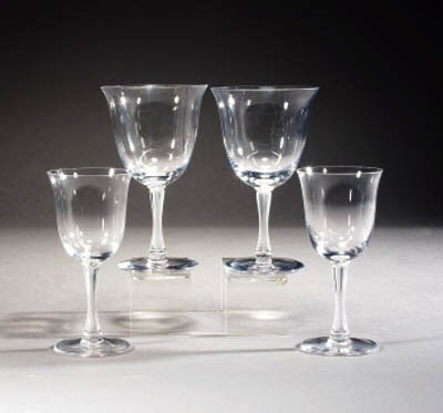 A set of Post-War glasses