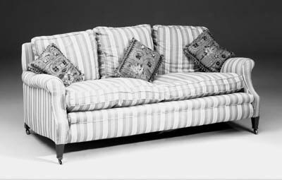A large Howard two seater sofa