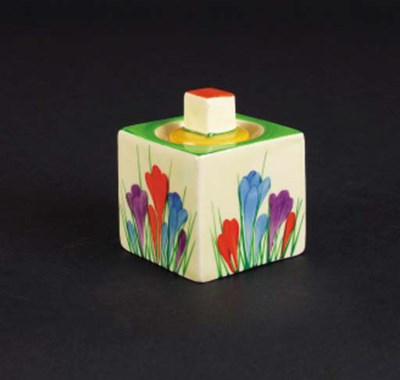 'Crocus' a  'Bizarre' Cube ink