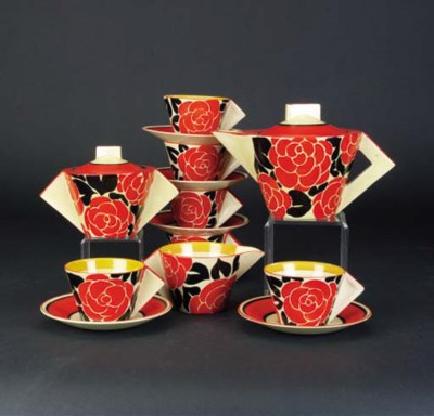 'Latona Red Roses' a Conical t