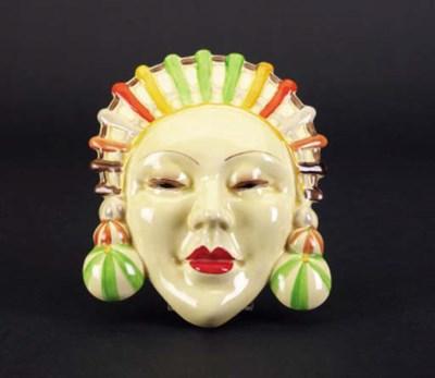 'Marlene' a wall mask