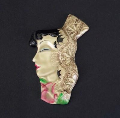'Spanish Girl' a wall mask