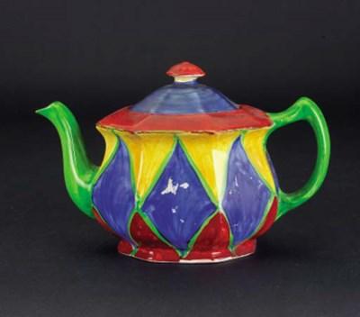'Original Bizarre' a teapot an